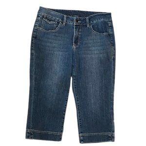 Jag Jeans classic fit Capri jeans size 12p